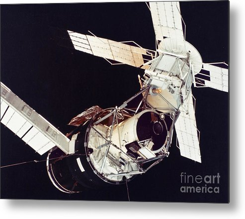 1973 Metal Print featuring the photograph Space: Skylab 3, 1973 by Granger