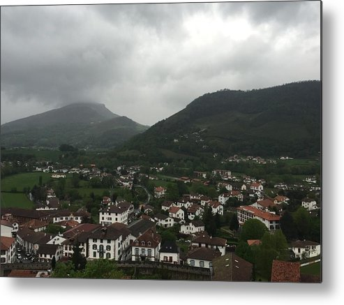 France Metal Print featuring the photograph St. Jean Pied De Port by Dani Keating