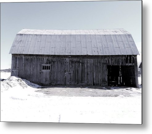 Barn Metal Print featuring the photograph Stable Life by Scarlet Sima