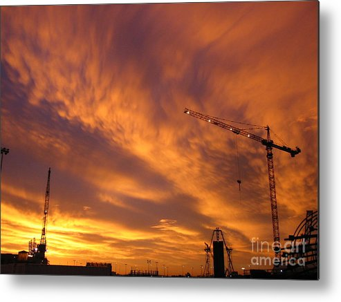 Sunrise Metal Print featuring the photograph Start Of The Day by Jerry Patchin