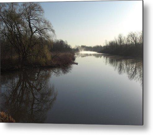 Still Water Metal Print featuring the photograph Still Water by Robert Collier