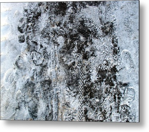 Winter Metal Print featuring the digital art Stories In Ice And Snow by Lyle Crump