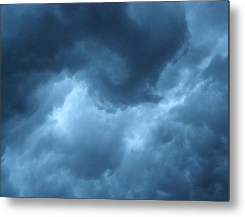 Storm Metal Print featuring the photograph Storm Rolling In by Angie Rea