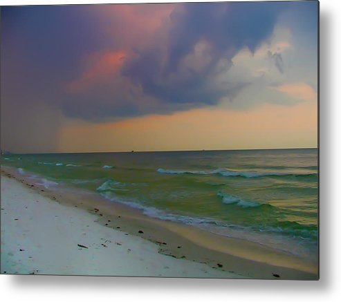 Storm Metal Print featuring the photograph Storm Warning by Bill Cannon