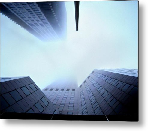 Skyscraper Metal Print featuring the photograph Straight Up by Ryan Mathes