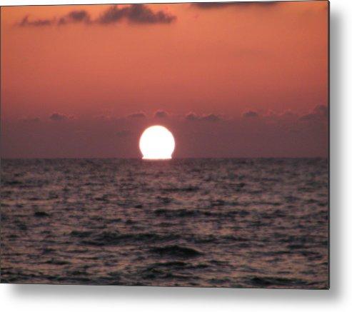 Florida Metal Print featuring the photograph Sundown At Dunedin by Bill Cannon