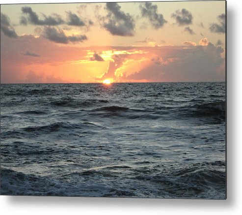 Sun Metal Print featuring the photograph Sunrise by Lauren Wilson