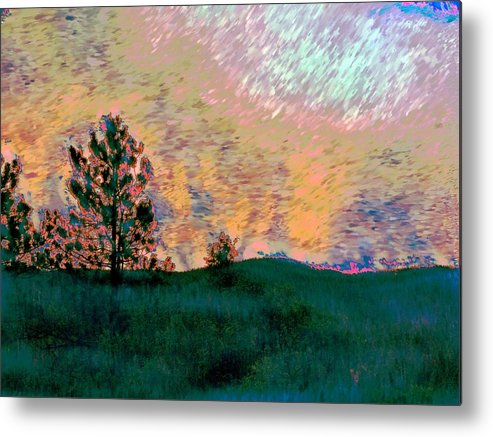 Giclee Prints Metal Print featuring the photograph Sunrise-sunset by Irma BACKELANT GALLERIES