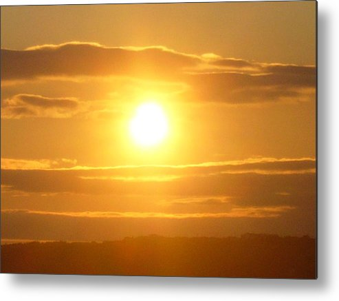 Sunset Metal Print featuring the photograph Sunset On The Horizon 3 by Sharon Stacey