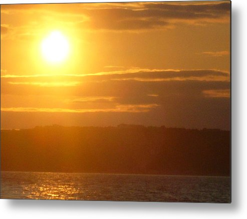Sunset Metal Print featuring the photograph Sunset On The Horizon 4 by Sharon Stacey
