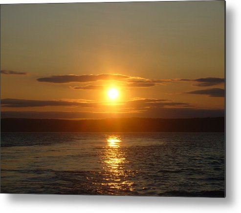 Landscape Metal Print featuring the photograph Sunset On The Horizon 6 by Sharon Stacey