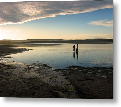 Sunset Metal Print featuring the photograph Sunset Over Kabeljauws by Riana Van Staden