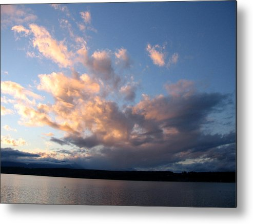 Sunset Metal Print featuring the photograph Sunset Two by Ty Nichols