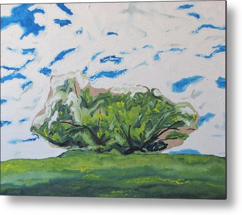 Fournier Metal Print featuring the painting Surrounded With Clouds by Francois Fournier