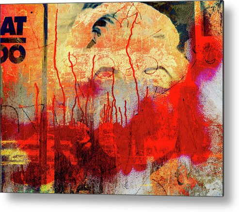 Beauty Metal Print featuring the photograph The Beauty In The City by Gabi Hampe