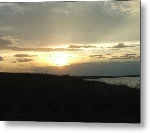 Metal Print featuring the photograph The Days End by Dennis Wilkins