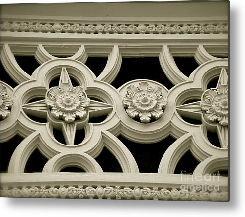 Black And White Metal Print featuring the photograph The Details by Amy Strong
