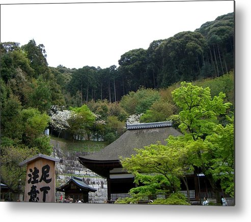 Japan Metal Print featuring the photograph The Monastery by Sunaina Serna Ahluwalia