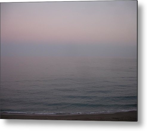 Seascape Metal Print featuring the painting The Sea Oh The Sea by Roger Cummiskey