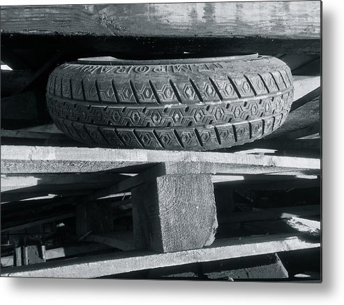 Tires Metal Print featuring the photograph Tires by Julian Grant