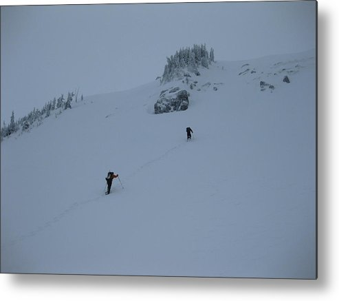 Landscape Metal Print featuring the photograph Today's Crux by Mark Camp