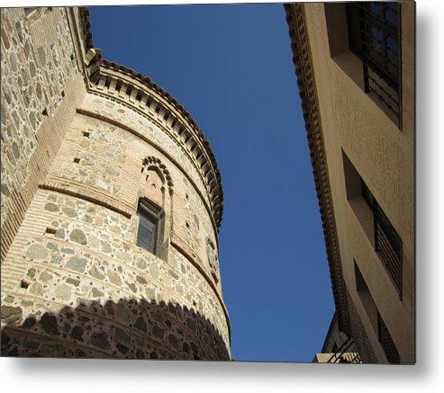 Toledo Metal Print featuring the photograph Toledo Castle II by John Shiron