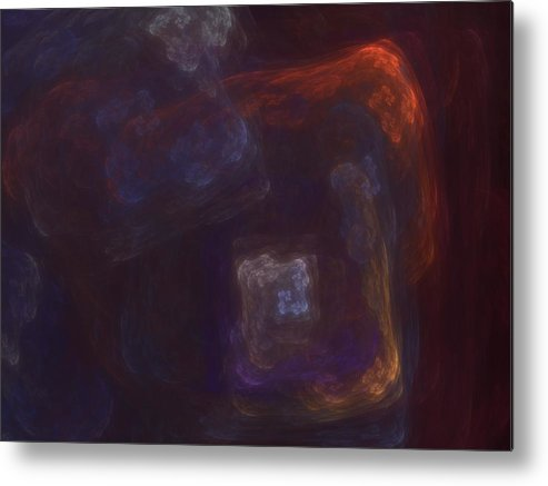 Fantasy Metal Print featuring the digital art Untitled 01-12-10-a by David Lane