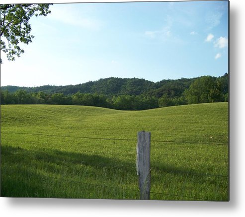 Landscape Metal Print featuring the photograph Untouched by Jessica Burgett
