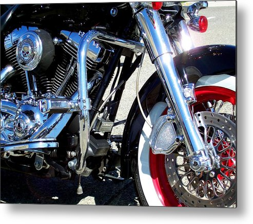 Harley Metal Print featuring the photograph V Twin by Kevin D Davis