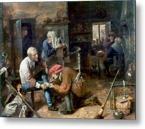 Adrian Metal Print featuring the photograph Village Barber-surgeon by Granger