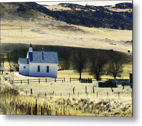 Abstract Metal Print featuring the photograph Virginia Dale Colorado by Lenore Senior
