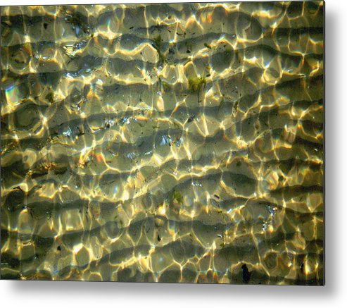 Photo Metal Print featuring the photograph Wave Abstract by Michael Durst
