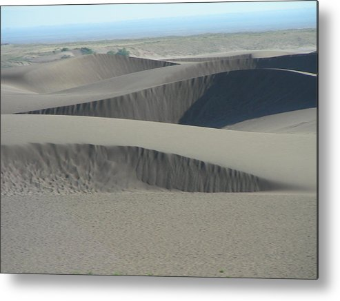 Sand Metal Print featuring the photograph Waves Of Sand by Peter McIntosh