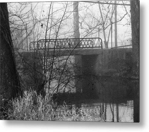 Bridge Metal Print featuring the photograph Webster Bridge by Michael L Kimble