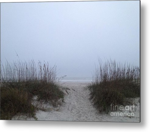 St. Augustine Metal Print featuring the photograph Welcome by LeeAnn Kendall