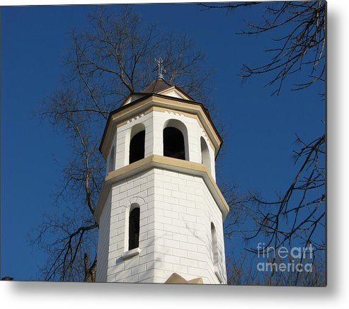 Architectual Metal Print featuring the photograph White by Iglika Milcheva-Godfrey