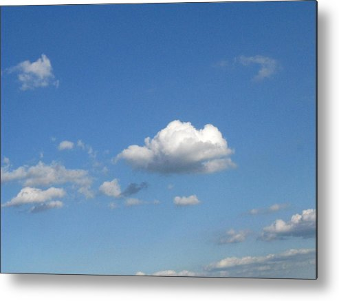 Clouds Metal Print featuring the photograph Wide Open by Rhonda Barrett