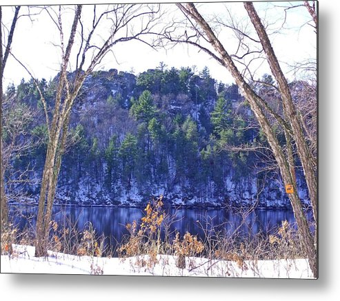 Rivers Metal Print featuring the photograph Wisconsin River 3 by Dave Dresser