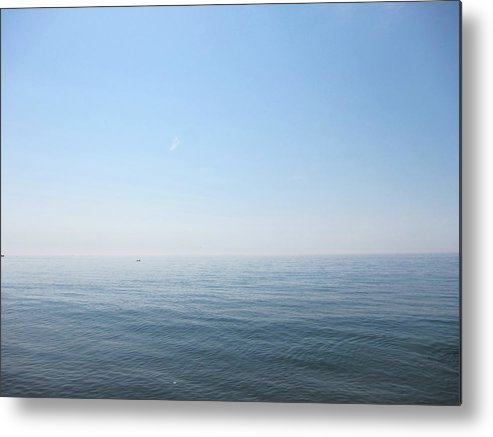 Tranquility Metal Print featuring the photograph Calm Sea by Sabine Davis