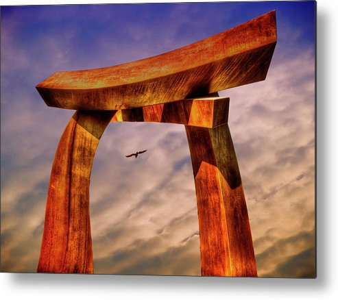 Photography Metal Print featuring the photograph Pi In The Sky by Paul Wear