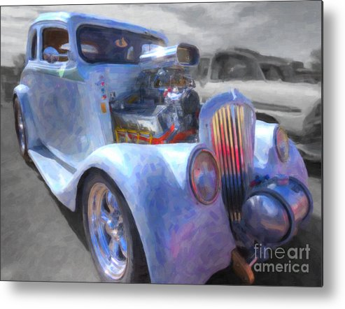 Transportation Metal Print featuring the photograph '33 Willy's by William Flynn