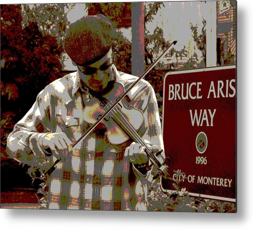 City Of Monterey Metal Print featuring the photograph A Song For You by Joseph Coulombe