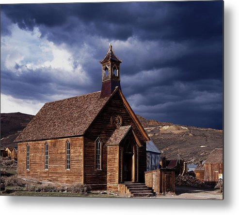 Bodie Metal Print featuring the photograph Bodie by Mirek Towski