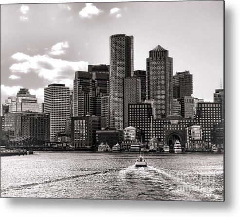 Boston Metal Print featuring the photograph Boston by Olivier Le Queinec