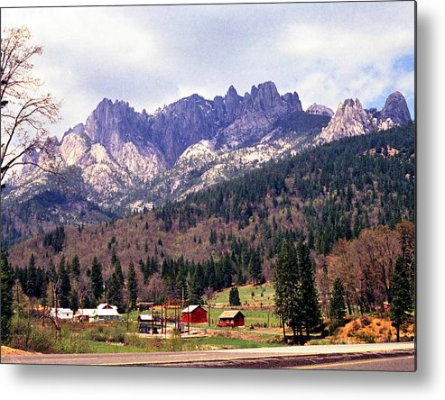 Scenics; Mountains; Monashees; British Columbia; Still Lifes; Fine Art. Metal Print featuring the photograph Monashee Postcard by Robert Rodvik