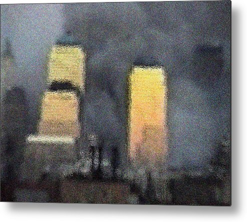 9/11 Metal Print featuring the digital art Reflection by James Kosior