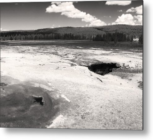 Yellowstone National Park Metal Print featuring the photograph The Earth Beneath Our Feet by Bianca Ramirez
