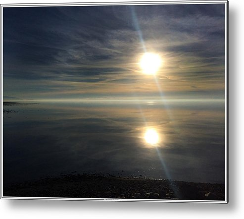 Utah Metal Print featuring the photograph Two Suns by Ron Brown Photography