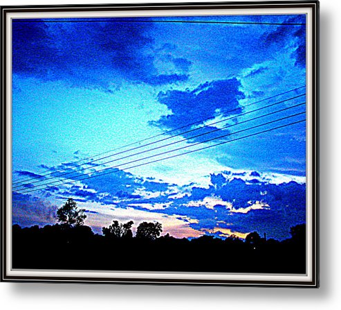 Sea Scape-flowers Flowers And Flowers---animal Photographs-sun Raise At Himalayas-sun Set Metal Print featuring the photograph Color Abstraction-19 by Anand Swaroop Manchiraju