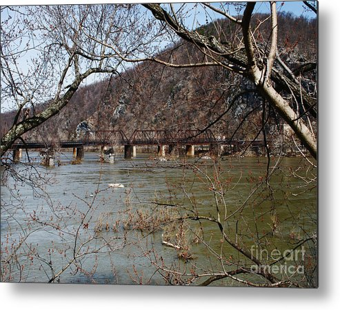 Rail Metal Print featuring the photograph Harpers Ferry 3 by Dwayne Cain